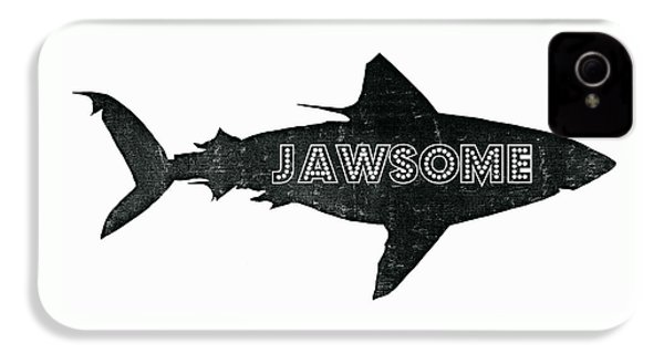 Jawsome IPhone 4 Case by Michelle Calkins
