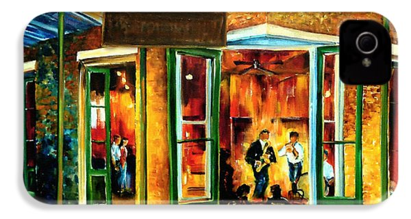 Jazz At The Maison Bourbon IPhone 4 / 4s Case by Diane Millsap