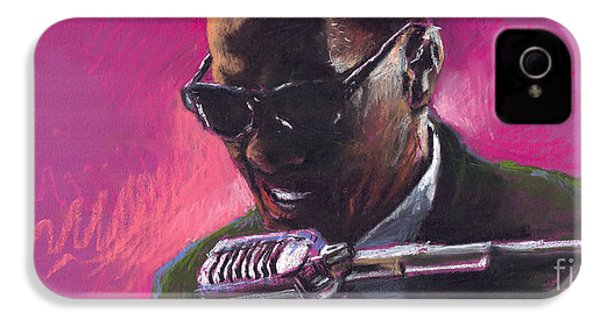 Jazz. Ray Charles.1. IPhone 4 Case by Yuriy  Shevchuk