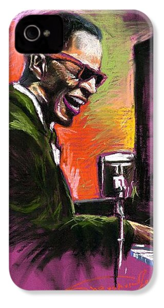 Jazz. Ray Charles.2. IPhone 4 Case by Yuriy  Shevchuk