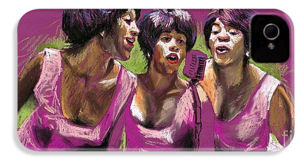 Jazz Trio IPhone 4 Case by Yuriy  Shevchuk