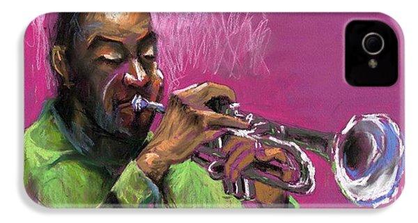 Jazz Trumpeter IPhone 4 Case