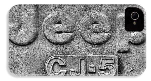 Jeep Cj-5 IPhone 4 Case by JC Findley