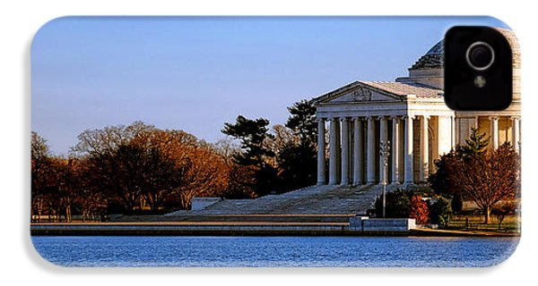 Jefferson Memorial Sunset IPhone 4 Case by Olivier Le Queinec