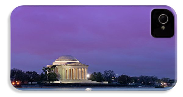 Jefferson Monument IPhone 4 Case by Sebastian Musial