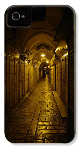 IPhone 4 Case featuring the photograph Jerusalem Of Copper 1 by Dubi Roman