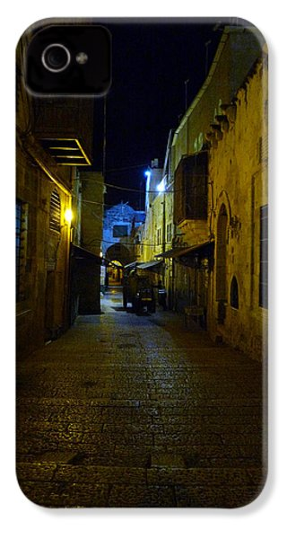 IPhone 4 Case featuring the photograph Jerusalem Of Copper 3 by Dubi Roman