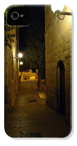 IPhone 4 Case featuring the photograph Jerusalem Of Copper 4 by Dubi Roman