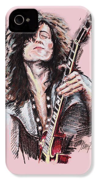 Jimmy Page IPhone 4 Case