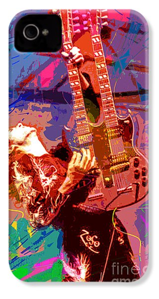 Jimmy Page Stairway To Heaven IPhone 4 / 4s Case by David Lloyd Glover
