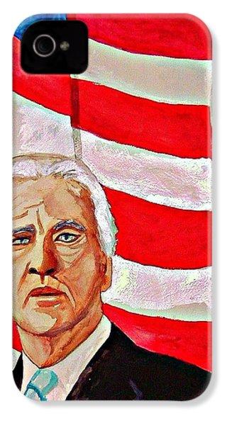 Joe Biden 2010 IPhone 4 Case by Ken Higgins