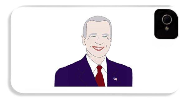 Joe Biden IPhone 4 Case by Priscilla Wolfe
