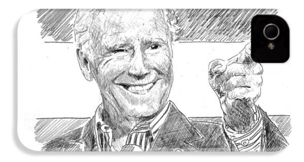 Joe Biden IPhone 4 Case by Shawn Vincelette