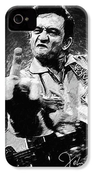 Johnny Cash IPhone 4 Case