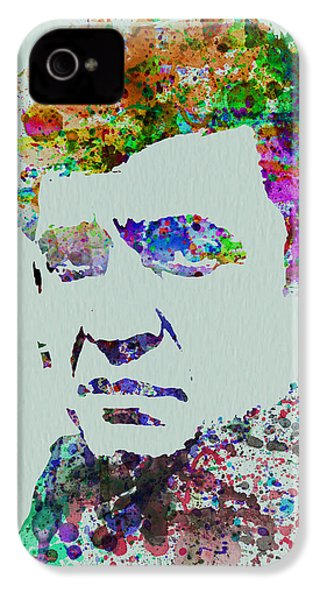 Johnny Cash Watercolor 2 IPhone 4 / 4s Case by Naxart Studio