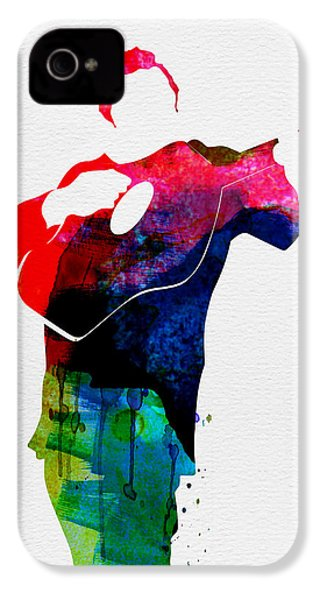 Johnny Watercolor IPhone 4 Case