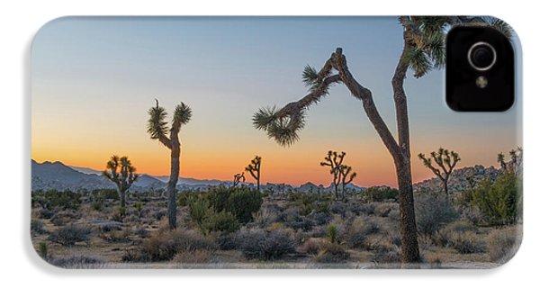 Joshua Sunset IPhone 4 / 4s Case by Joseph Smith