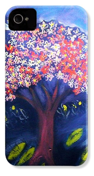IPhone 4 Case featuring the painting Joy by Winsome Gunning