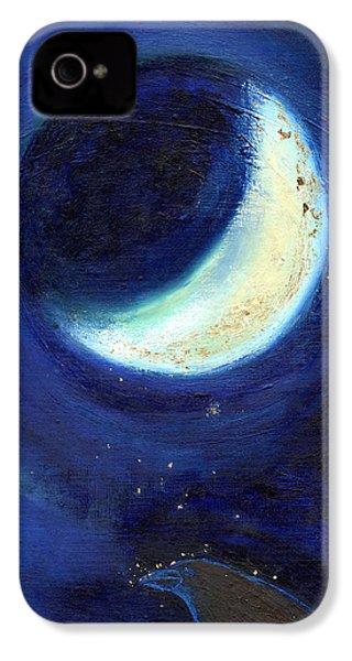 July Moon IPhone 4 Case by Nancy Moniz