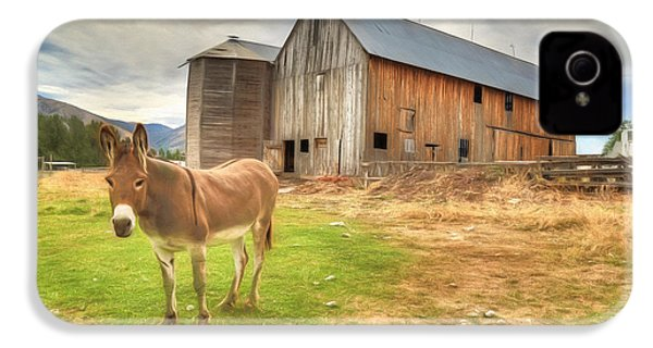 Just Another Day On The Farm IPhone 4 Case