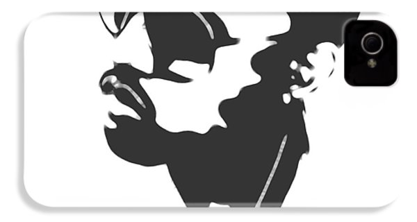 Kanye West Silhouette IPhone 4 Case by Dan Sproul