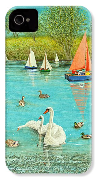 Keeping A Watchful Eye IPhone 4 Case by Pat Scott
