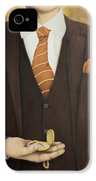 Keeping Time IPhone 4 / 4s Case by Patrick Kelly
