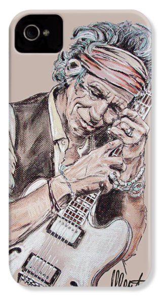 Keith Richards IPhone 4 Case
