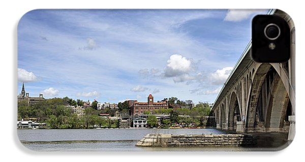 Key Bridge Into Georgetown IPhone 4 / 4s Case by Brendan Reals