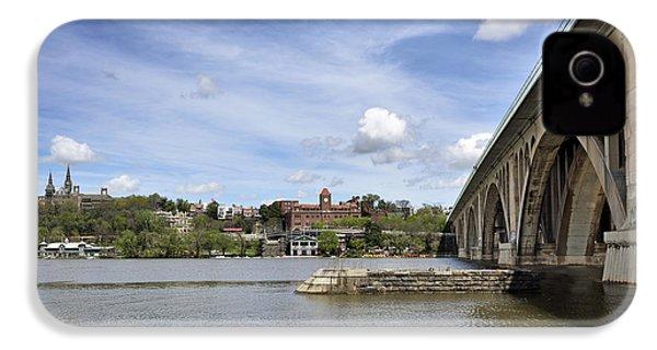 Key Bridge Into Georgetown IPhone 4 Case by Brendan Reals