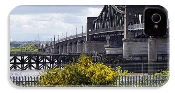 IPhone 4 Case featuring the photograph Kincardine Bridge by Jeremy Lavender Photography