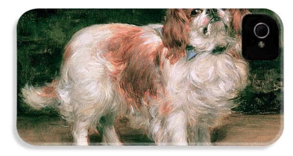 King Charles Spaniel IPhone 4 Case by George Sheridan Knowles