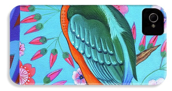 Kingfisher IPhone 4 Case by Jane Tattersfield