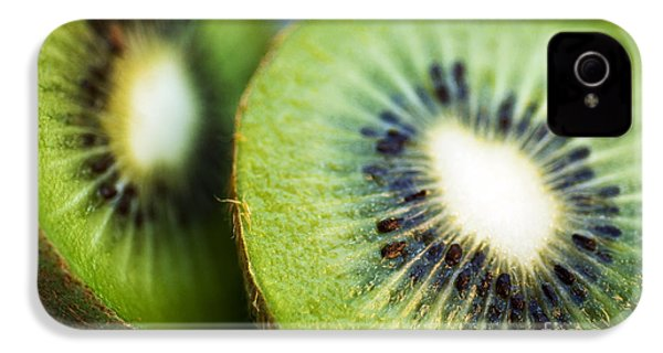 Kiwi Fruit Halves IPhone 4 Case by Ray Laskowitz - Printscapes