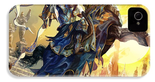 Knight Of New Benalia IPhone 4 Case by Ryan Barger