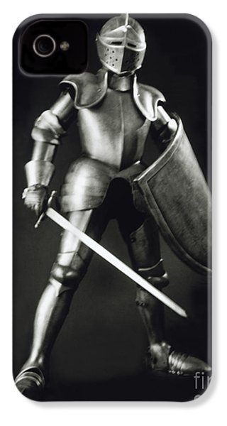 Knight IPhone 4 / 4s Case by Tony Cordoza