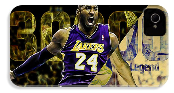 Kobe Bryant Collection IPhone 4 Case