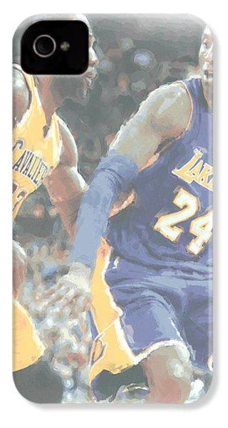 Kobe Bryant Lebron James 2 IPhone 4 Case