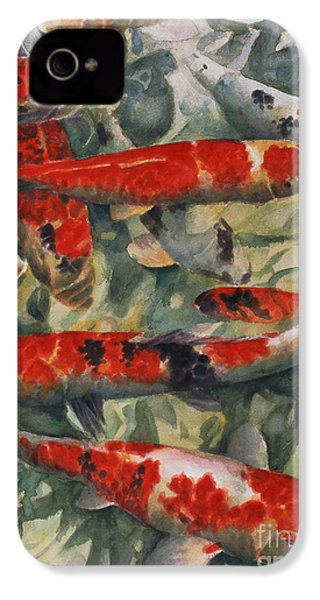 Koi Karp IPhone 4 / 4s Case by Gareth Lloyd Ball