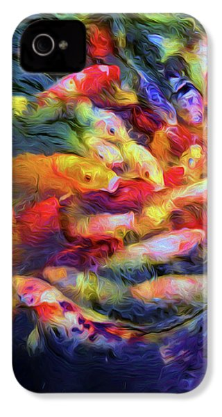 Koi Pond IPhone 4 / 4s Case by Jon Woodhams