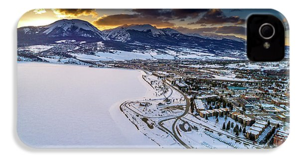 Lake Dillon Sunset IPhone 4 Case by Sebastian Musial