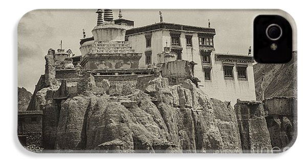 Lamayuru Monastery IPhone 4 Case by Hitendra SINKAR