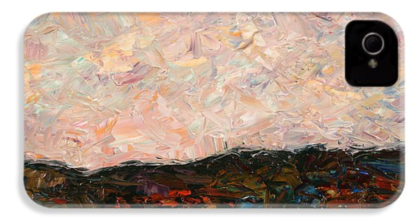 Land And Sky IPhone 4 Case by James W Johnson