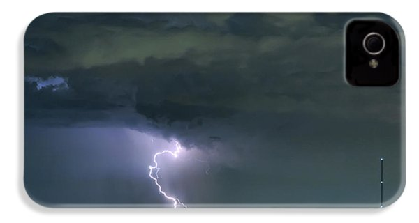 IPhone 4 Case featuring the photograph Landing In A Storm by James BO Insogna
