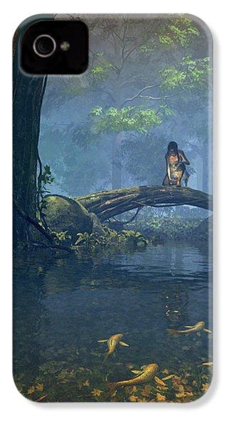 Lantern Bearer IPhone 4 Case