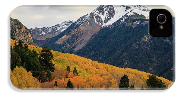 Last Light Of Autumn IPhone 4 Case by David Chandler