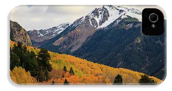 IPhone 4 Case featuring the photograph Last Light Of Autumn by David Chandler
