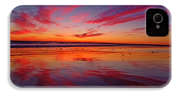Last Light Topsail Beach IPhone 4 Case by Betsy Knapp