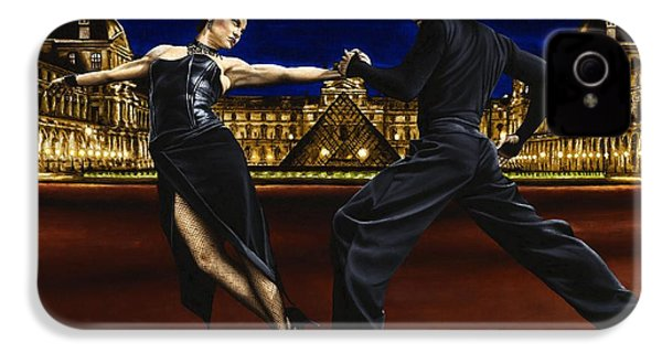 Last Tango In Paris IPhone 4 Case by Richard Young