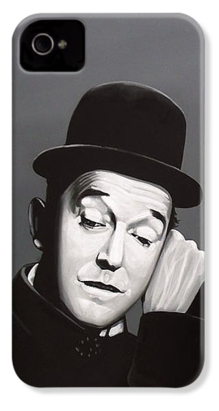 Laurel And Hardy IPhone 4 Case by Paul Meijering